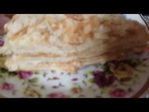 Торт наполеон самый легкий