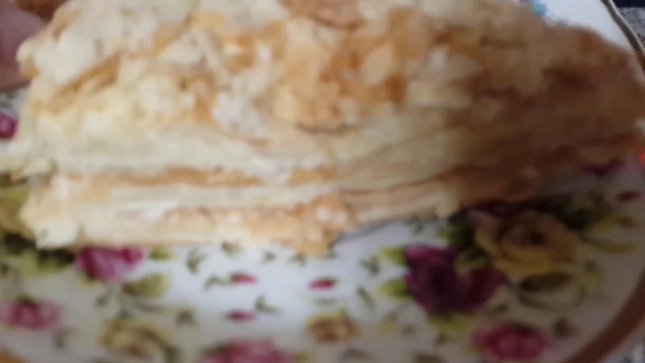 наполеон торт рецепт самый вкусный от бабушки