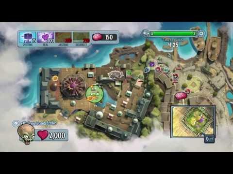 Plants vs. Zombies: Garden Warfare - Dr. Zomboss Boss Mode - Road to Rank 313 - Part 20