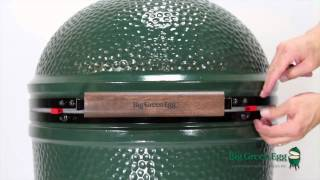 Large Big Green Egg Assembly