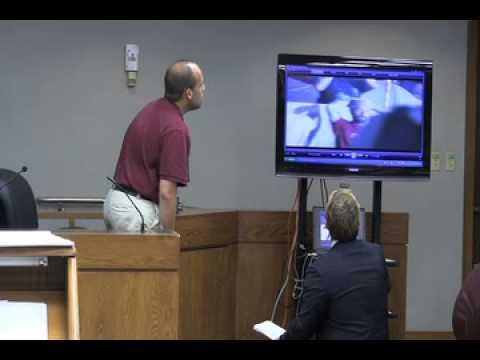 Carlos Miller's Trial (3 of 13): Miami-Dade Police Captain Mike Dieppa under direct examination