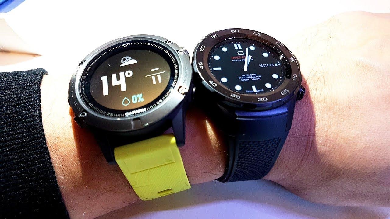 Huawei Watch 2 Vs Garmin Fenix 5 Side To Side Quick Look