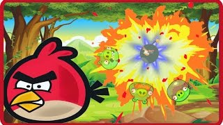 Angry Birds Online Games - Episode Angry Birds Bomber Birds - Like Bomberman Games