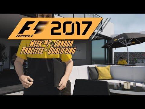 F1 2017 Career | Canada Practice/Qualifying
