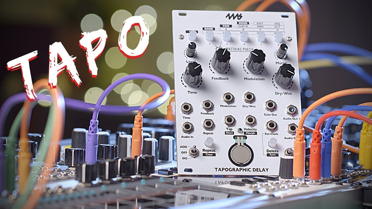 Modular Minute EP 12 4MS Tapographic Delay (Eurorack Module)