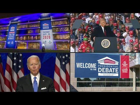 AFP Português: Primeiro debate presidencial nos EUA | AFP