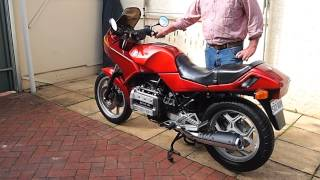 BMW K75S 1986 10,000kms in 26 years