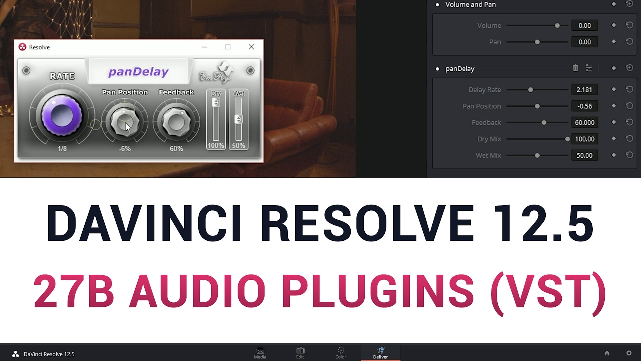 Burning Question: What Audio Plug-ins can be used in DaVinci