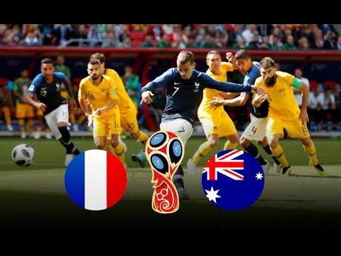 Download France vs Australia 2018 FIFA World Cup Russia Match 5