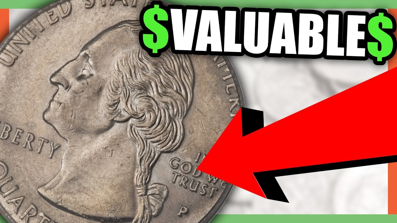 STATE QUARTERS WORTH MONEY RARE QUARTERS TO LOOK FOR YouTube - Rare us state quarters
