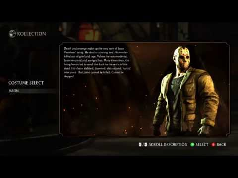 Mortal Kombat X (Standard Version) - All Characters, All Costumes (Includes DLC)