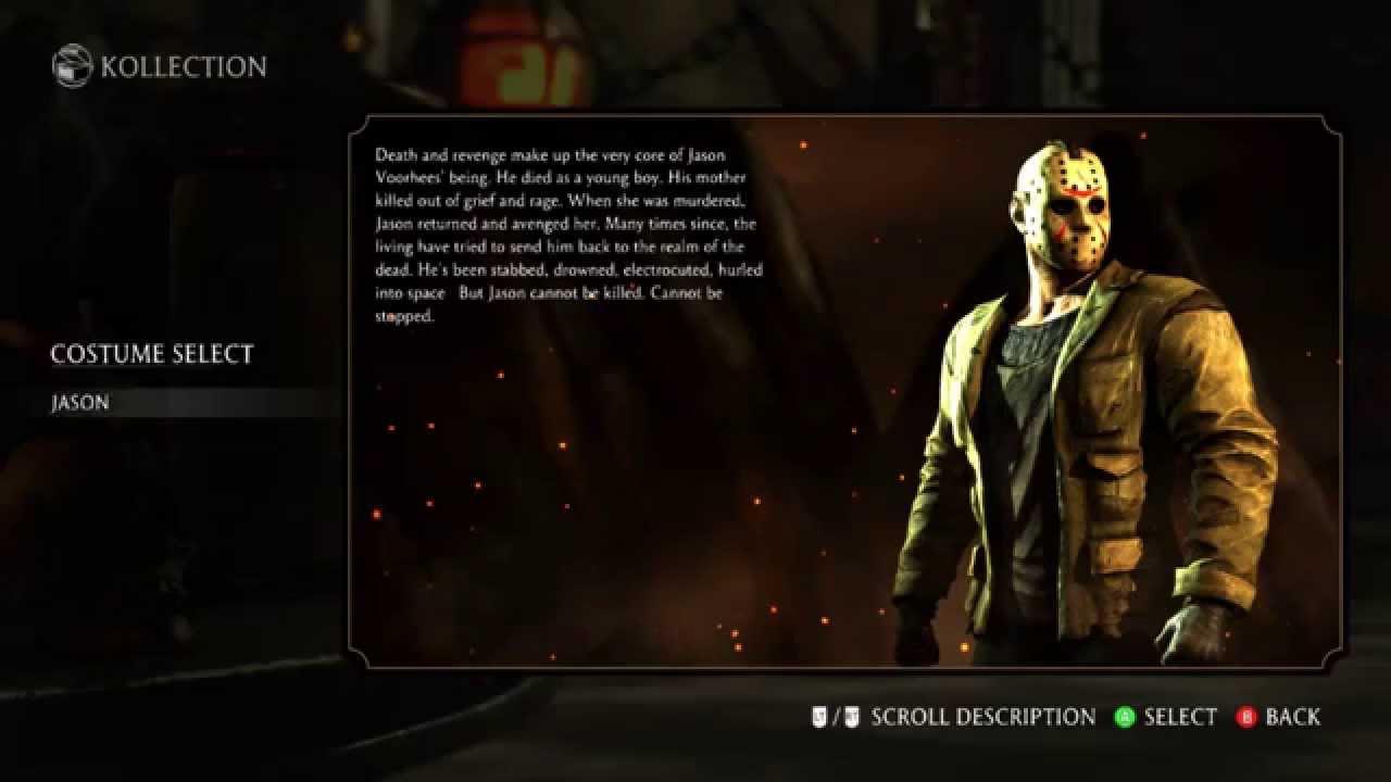 Mortal Kombat X Standard Version All Characters All Costumes