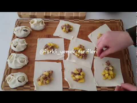 Özbek Mantısı Yapılışı Videosu