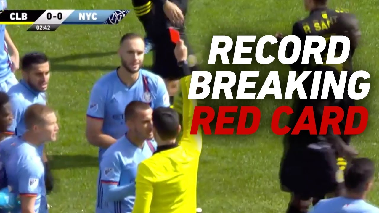 Sent Off After 3 Mins! Fastest EVER Red Card to Start an MLS Season
