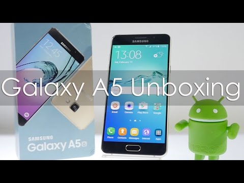 Samsung Galaxy A5 2016 Edition Unboxing & Overview