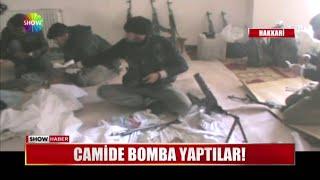 Camide bomba yaptılar!