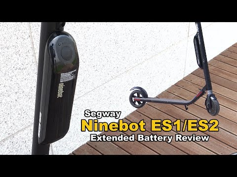 Segway Ninebot Extended Battery Review (ES1 and ES2)