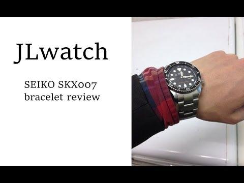 세이코 SEIKO WATCH SKX007 브레이슬릿 메탈밴드가 싫으셨던 분들께 추천합니다. 시계줄질