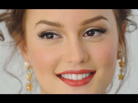 Makeup Tutorial Blair Waldorf, Leighton