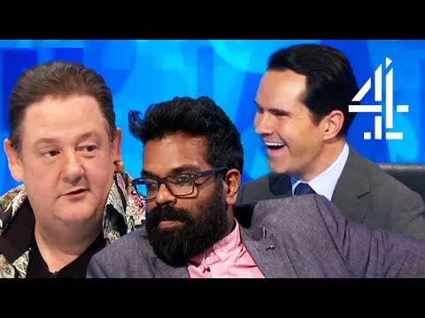 Romesh Ranganathan is SO DONE with Johnny Vegas | 8 Out of 10 Cats Does Countdown | Best Comedians 4