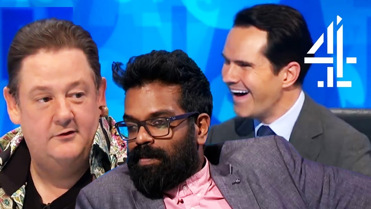 Romesh Ranganathan is SO DONE with Johnny Vegas | 8 Out of 10 Cats Does Countdown | Best Comedians 4 image