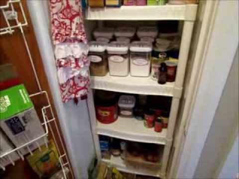 How To Turn A Coat Closet Into A Pantry | Pantry Organization For Small  Space   YouTube