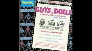 Guys and Dolls Original Broadway - Runyonland Music - Fugue for Tinhorns - Follow the Fold