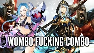 Repeat youtube video League of Legends SPAWNKILLING /w Jinx and AP Ashe