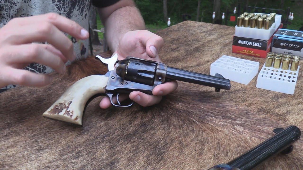 Davy Colt SAA Dad's Gunfighter Model 4 3/4