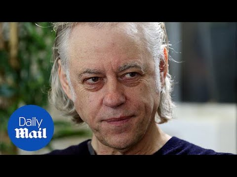 Sir Bob Geldof 'sick' of world leaders - Daily Mail