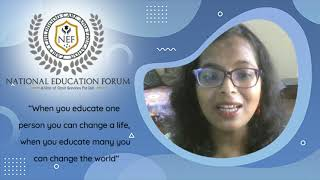 National Education Forum Irani Adhikary
