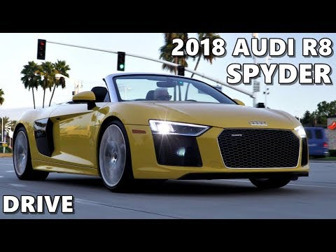 2018 Audi R8 Spyder Driving impressions