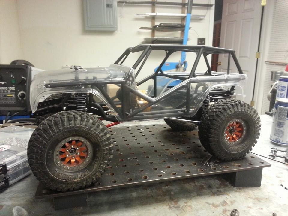 Scx10 1 9 Wraith Build Roller Episode 2 Youtube