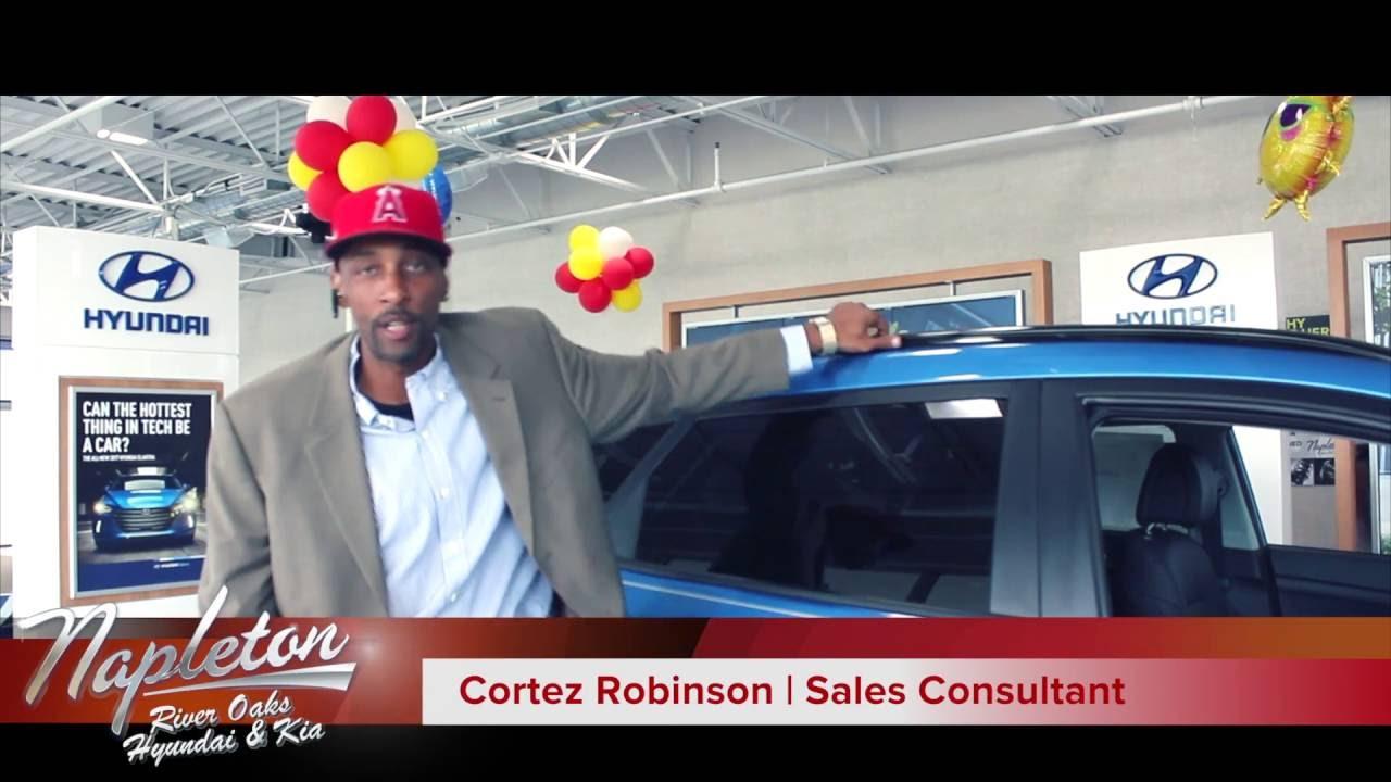 Cortez Robinson at Napleton River Oaks Hyundai and Kia - YouTube