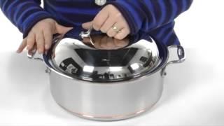 All-Clad Copper-Core 6 Qt. Round Roaster  SKU : # 8092376