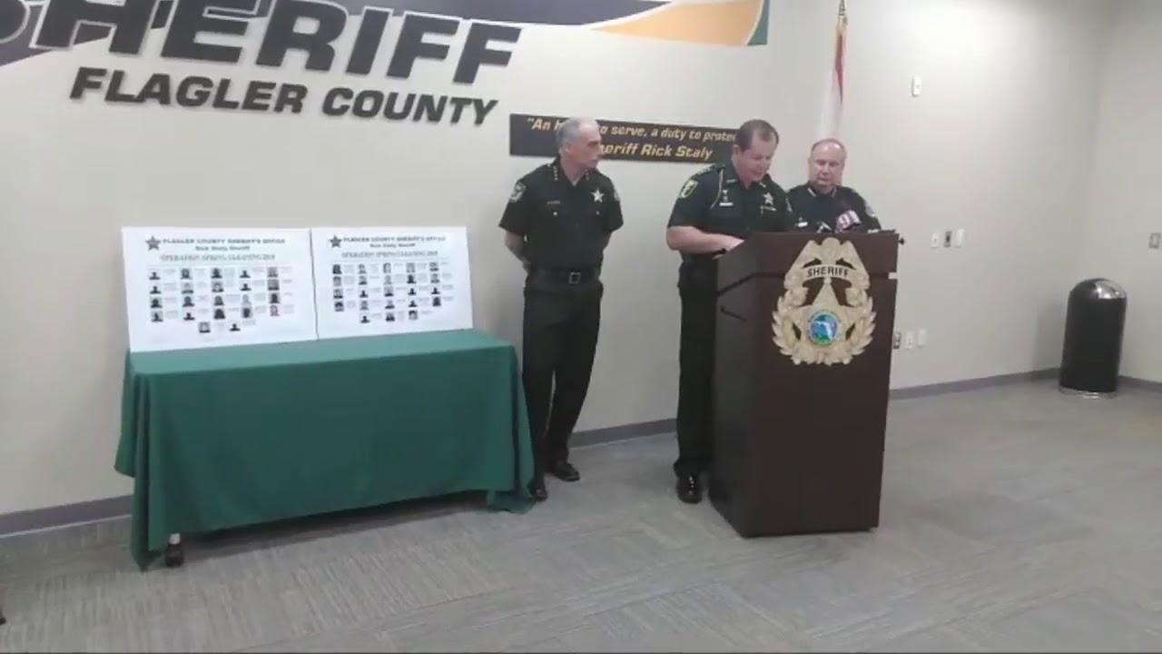 Sheriffs: Over 100 'drug dealers' arrested in Volusia, Flagler