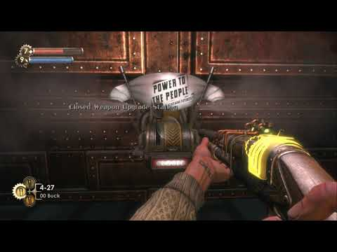 "Bioshock ""Weapon Specialist"" Achievement - All Power To The People Machines 