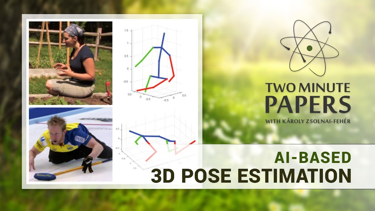 AI-Based 3D Pose Estimation: Almost Real Time!