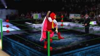 WWE'13 Mario & Luigi: Bowser's Inside Story and Dream Team 『CAW』