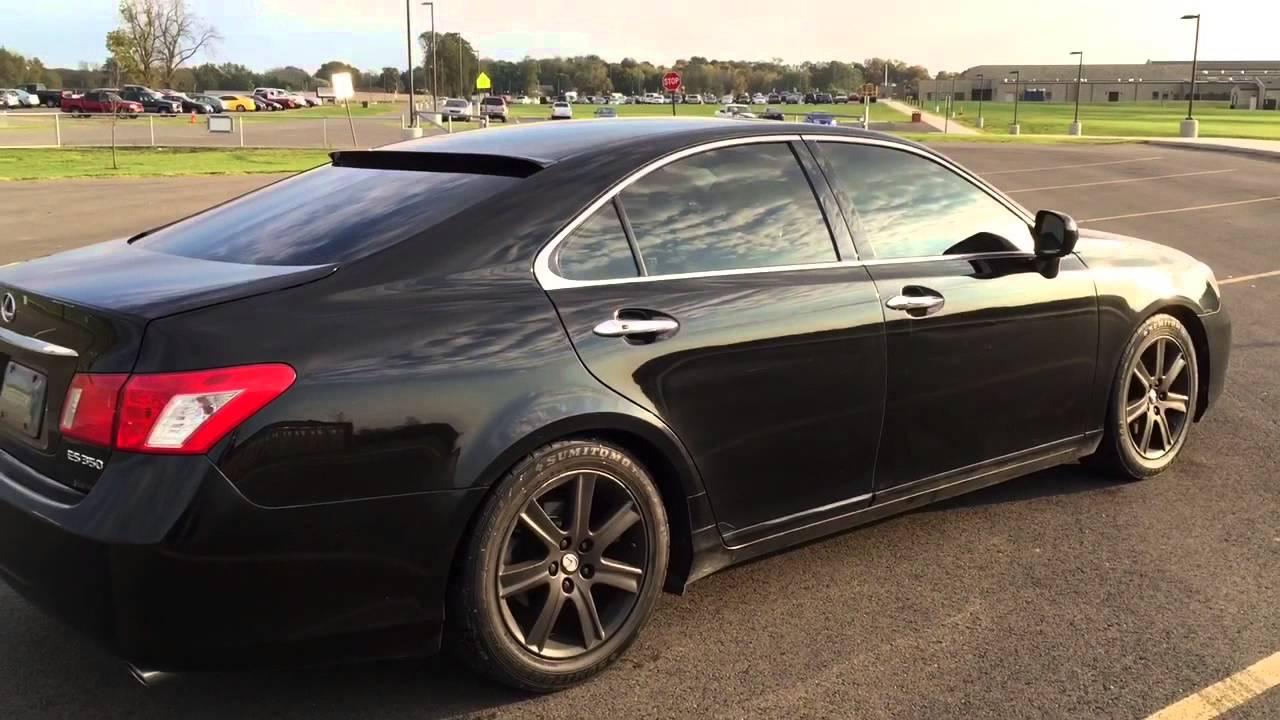 Lexus ES 350 2007 Black On Black Rims!!!   YouTube