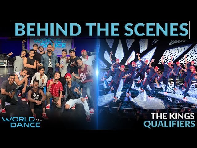 Behind The Scenes | NBC World of Dance Season 3 | Qualifiers Performance | The Kings