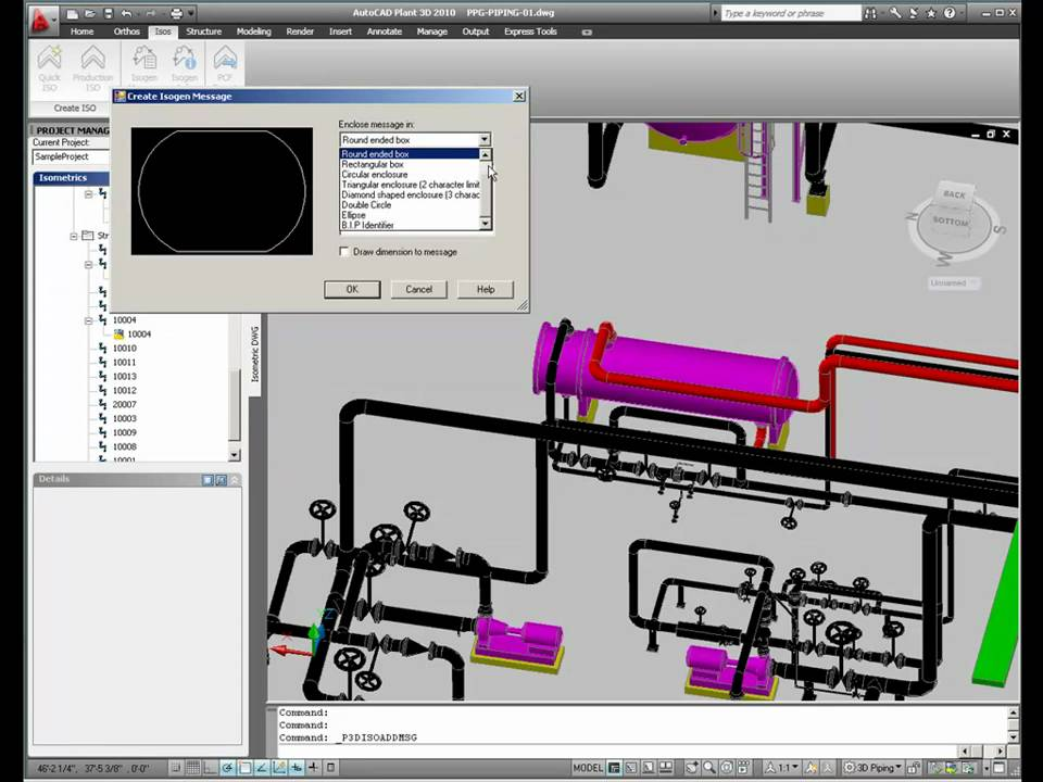 Isos In Autocad Plant 3D (Part 1) - Youtube