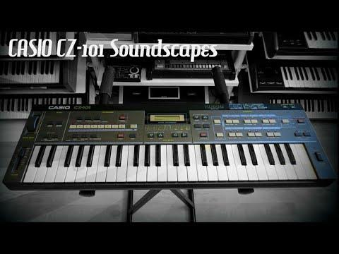 CASIO CZ-101 PD Synthesizer (1984) RetroSound Soundscapes part1