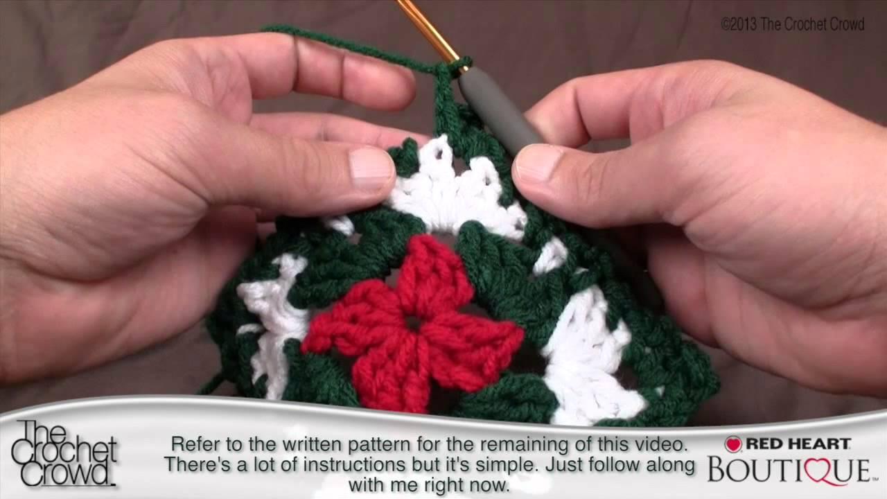 Flower Tutorial Crochet Crowd   Gardening: Flower and Vegetables