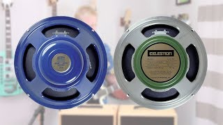 Celestion BLUE vs. G12M Greenback
