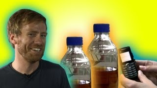 Pee powered phones - Earth Juice (Ep 36) - Earth Unplugged