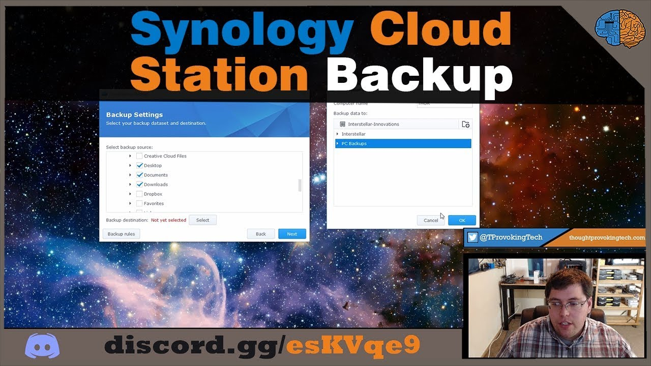 Cloud Station Backup