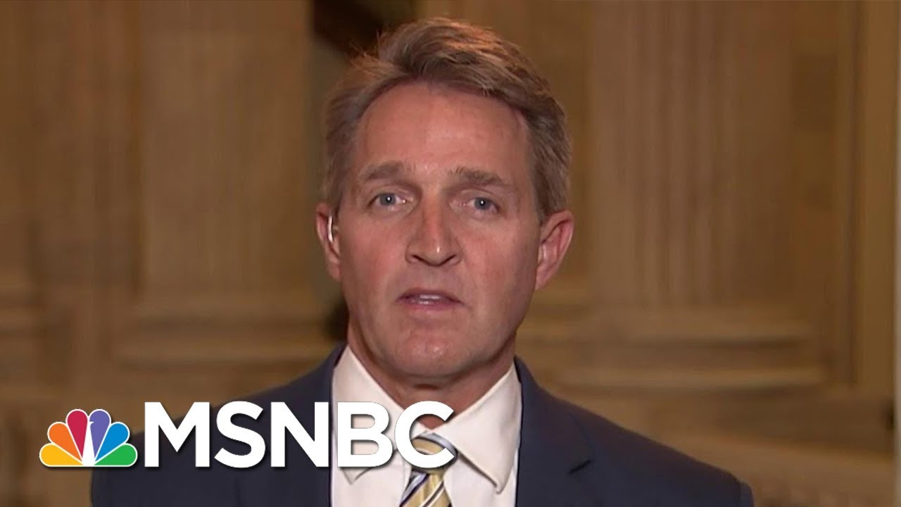 senator-jeff-flake-we-must-stand-up-for-the-first-amendment-morning-joe-msnbc