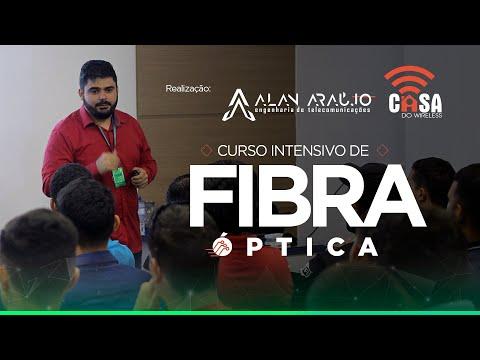 Curso Intensivo de Fibra Óptica em Brasília - Realização da Casa do Wireless - Eng Alan Araújo