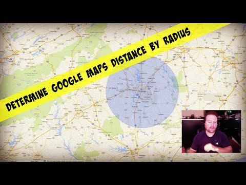 Determine Google Maps Distance By Drawing A Radius - YouTube on center on map, area on map, 50 miles on map, city on map, bridge on map, rom on map, microsoft on map, storm on map, state on map, position on map, arc on map, slope on map,